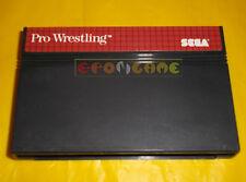 PRO WRESTLING Sega Master System Versione Europea PAL ○○ SOLO CARTUCCIA - AR