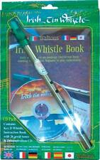 Waltons D Tin Penny Folk Irish WHISTLE GIFT PACK with CD and Book