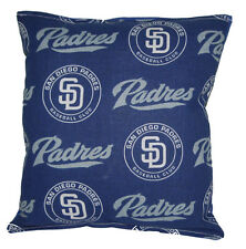 Padres Pillow San Diego Padres MLB Pillow HANDMADE Baseball Pillow Made In USA