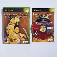 Crouching Tiger Hidden Dragon (Original PAL XBOX) game w/ manual. *FREE P&P