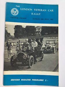 London Veteran Car Rally at Crystal Palace 1956