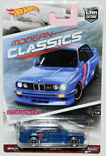 HOT WHEELS 2017 CAR CULTURE MODERN CLASSICS '92 BMW M3 BLUE