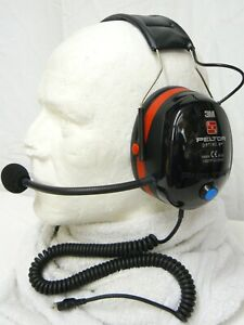 Paramotor Radio Headset, Gold*Star, new, Peltor Optime 3 Ear Defenders