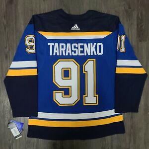 Adidas Vladimir Tarasenko St. Louis Blues Authentic NHL Hockey Jersey, Size 52