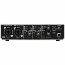 Behringer UMC204HD U-phoria Audio Recording Interface