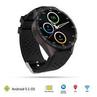 Smartwatch KW88 3G Reloj Intelige Android 4GB Bluetooth WiFi GPS SIM Para iPhone