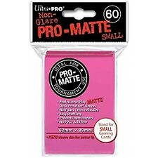 Ultra Pro Pro-matte Deck Protector Sleeves Small 60ct Bright Pink
