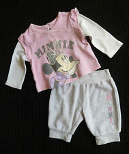 Baby clothes GIRL newborn 0-1m<9lbs/4.1kg Disney Minnie Mouse top/soft trousers
