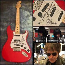 GFA Marky and C.J. Ramone * THE RAMONES * Signed Electric Guitar PROOF R3 COA