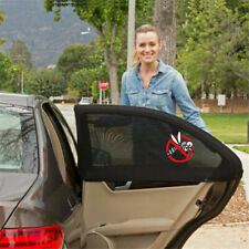 2Pcs Car Rear Side Window Sun Shade Mesh Cover Shield UV Protect Universal