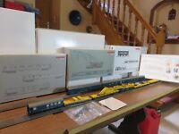 Ensemble rare Märklin HO 49950 + 49951 + 49955 (Grue + wagons assortis)