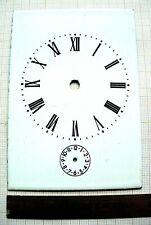 Cadran émail dial carriage clock voyage pendule zifferblatt officier Uhr 2
