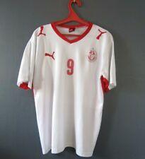 TUNISIA SOCCER NATIONAL TEAM #9 CHIKHAOUI JERSEY T-SHIRT TRIKOT MENS SIZE L 5/5
