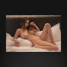 GJ0477A | 4x6 Photo (Stunning nude brunette model, big breast)