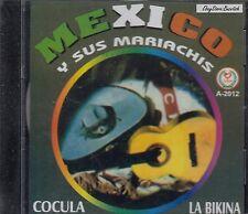 Tomas Mendez Pepe Guizar Ruben Fuentes  Mexico Y Sus Mariachis  CD Nuevo