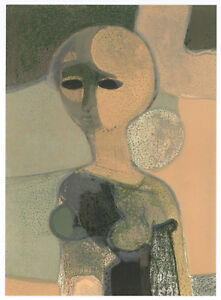 Andre Minaux original lithograph, 1967