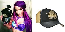 WWE SASHA BANKS HAND SIGNED AUTOGRAPHED OFFICIALLY LICENSED HAT/CAP WITH COA