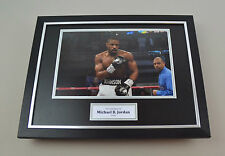 Michael B. Jordan Signed Photo Framed 16x12 Creed Autograph Memorabilia Display