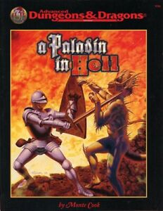 A PALADIN IN HELL EXC+! 1998 TSR Adventure Dungeons Dragons AD&D D&D Module