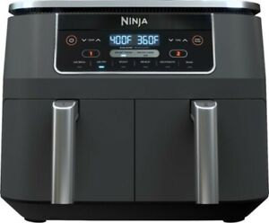 Ninja 6 in 1 Basket Air Fryer with Dual Zone Technology - Gray