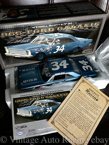 Wendell Scott #34 University Of Racing Legends 1:24 Scale 1965 Ford Galaxie