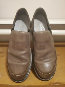 Naot Men's Pemba Brown Suede Leather Slip On Casual Loafers  Size 47 EUR 13US