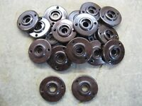 1 x Reproduction Real Walnut Brown Bakelite 1930's - 60's Door Knob Rose  RB65