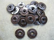 1 x Reproduction Real Walnut Brown Bakelite 1930's - 60's Door Knob Rose  RB65