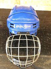 New listing Bauer Hockey Helmet Bhh1500Xs Black Xtra Small Cage Fm2500 Xs/Tp True Vision I