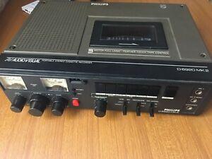 PHILIPS D6920 MK2 registratore a cassette con variatore velocità in lettura