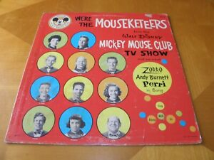 Mickey Mouse Club MM-18 We're the Mouseketeers 1957 Photos on Cover GD/VG/GD+