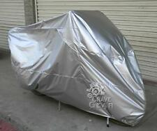 L Silver Sunproof Motorcycle Cover For BMW K R 75 100 1100 1200 1300 1600