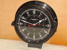 Chelsea U.S.Air Force Clock~8 1/2 In~Circa 1954~12/24 hr.Dial~ Near Mint~