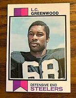 1973 Topps #165 L.C. Greenwood RC - Steelers