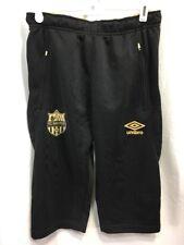 NEW Umbro FC Nantes Shorts Soccer Football Mens Medium (EUR) Black Half Length