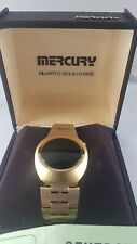 "Mercury Centron Watch The New York""  collector watch, for parts or repair"