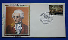 "Ireland (533) 1982 Grattan's Parliament Colorano ""Silk"" FDC"