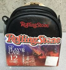 Rolling Stone 12 CD / Player Case with Guitar Zipper Pulls