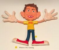 1988 Alfred E. Newman Rubber Bendable Collectible Figure READ USED MAD Magazine