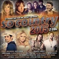 SO COUNTRY 2015 VARIOUS ARTISTS 2 CD NEW