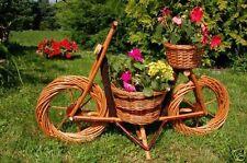 bicicletta, MOTO vimini, Rattan, Cesto piante, Fioriera, vimini, 70 cm