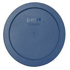 Pyrex 7201-PC Blue Spruce Round Plastic Storage Lid Cover
