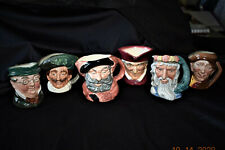 Lot Of Six Royal Doulton Toby Mugs