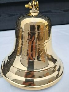 Brass Titanic Ship 5 inch Bell Wall Mounted Antique Nautical Marine