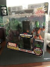 2006 Marvel Legends Face-Off The Hulk VS The Leader Action Figure Set NEW ToyBiz