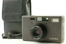 【MINT+】Contax T3 D Black Data Back Point & Shoot Film Camera from JAPAN 311
