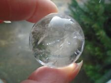 Lovely Clear Quartz sphere, Madagascar, 45 grms, 30 mm