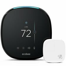 NEW! ecobee4 Smart Thermostat w/ Built-In Alexa (Room Sensor Included) FREE S&H!