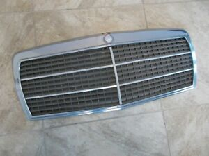 Mercedes Benz 190 D Front Grille Assembly 84 85 86 Used OEM W201