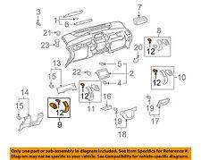 TOYOTA OEM 06-09 Prius Instrument Panel Dash-Air Vent Grille Left 5565047060